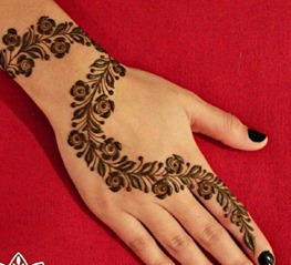 Mystylespots 20 Simple Henna Designs