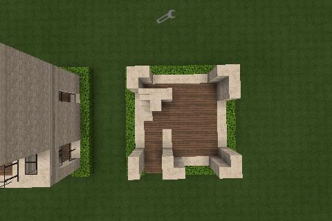 Minecraft City Sand House No 2 10x10