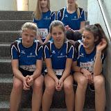 Das Team U16 kurz nach dem finalen Teamcross, von den Anstrengungen noch gezeichnet