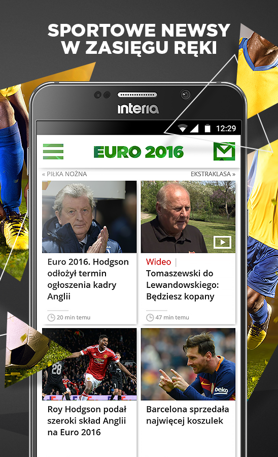 INTERIA Sport- screenshot