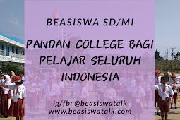 Beasiswa Pandan College Untuk Pelajar SD/ MI 2020
