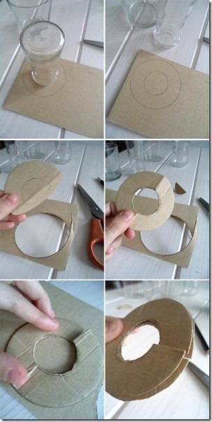 como hacer un pompón de lana, muy fácil