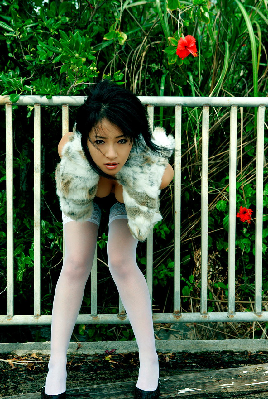 Sanokjiji Sexy Megumi Kagurazaka White Stockings With Big