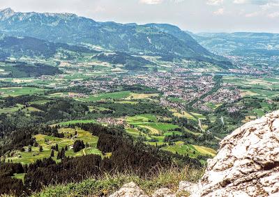 Blick ins Hintersteinertal vom Imbergerhorn