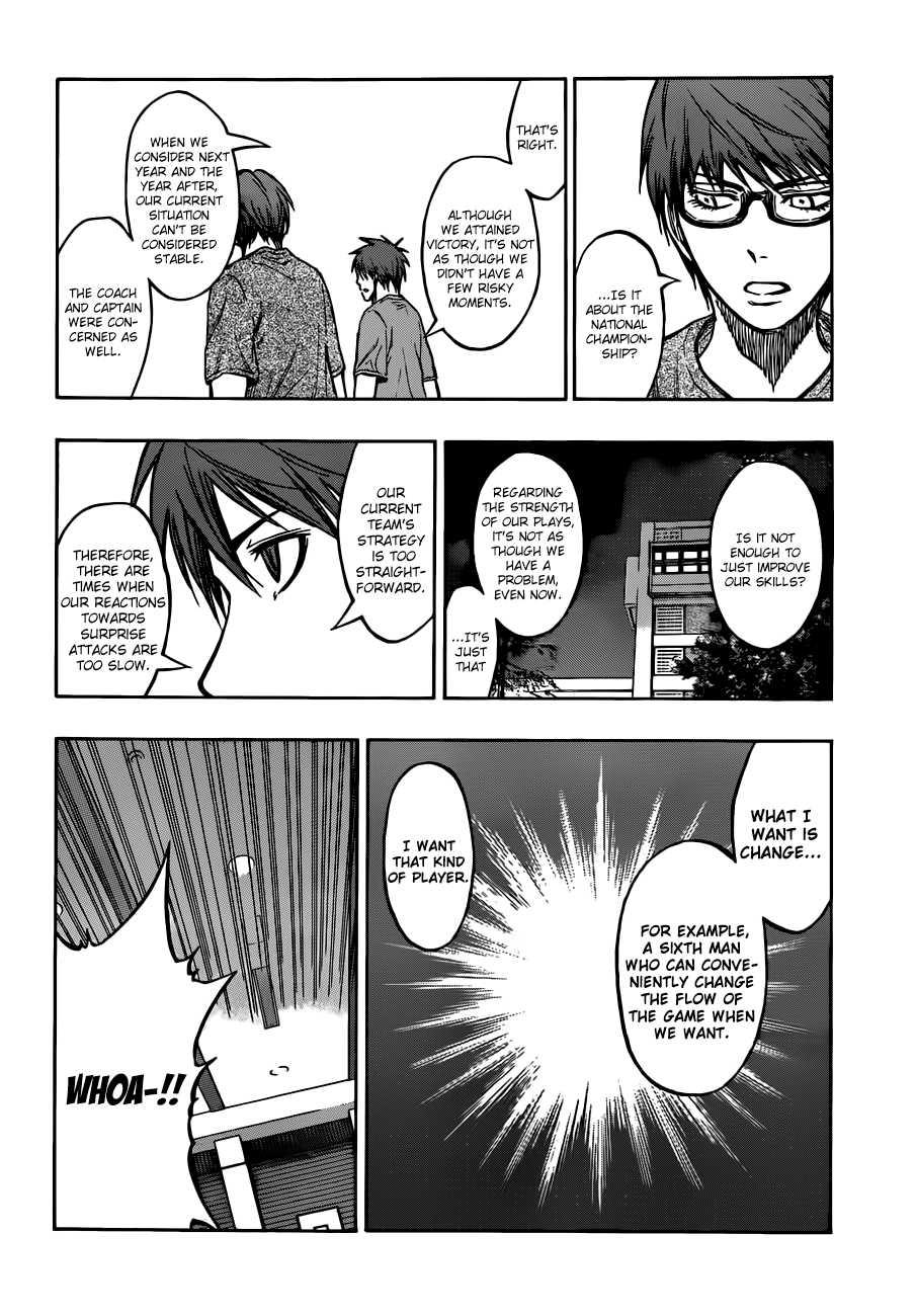 Kuroko no Basket Manga Chapter 205 - Image 10