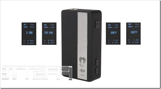 2909500 4 thumb%25255B2%25255D - 【MOD】シンプルでバッテリーの残量をパーセンテージ表示してくれるVapmod Cobra T150 TC VW Box Mod