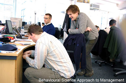 behavioural science approach to management
