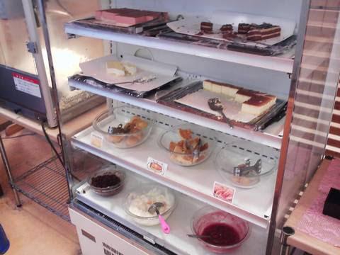 お祭り広場ケーキコーナー 回転寿司かいおう小牧パワーズ店