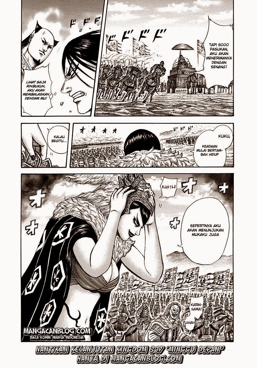 Kingdom Chapter 306