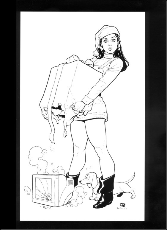 [Frank Cho] Women - Selected Drawings and Illustrations_854057-0086