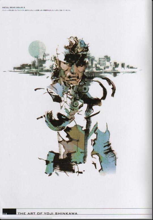The Art of Yoji Shinkawa 1 - Metal Gear Solid, Metal Gear Solid 3, Metal Gear Solid 4, Peace Walker_802479-0007