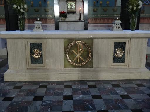 Santuário Sagrado Coração de Jesus - Altar e Sacrário