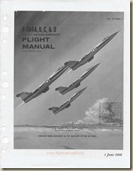 F-104A, B, C, and D Flight Manual_01