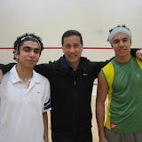 Mohammed Nabil, Maugus Club Squash Pro Cliff Wenn, Mohammed El Sherbini