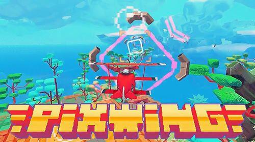 PixWing - Flying Retro Pixel Arcade Imagem do Jogo