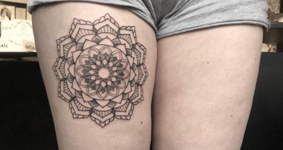 Esta linda coxa tat