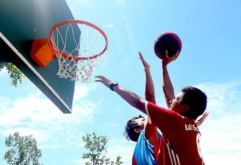 Kompetisi Basket Antar Pesantren di Darussalam Gontor 2016