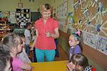 Spotkanie pierwszoklasistów z przedszkolakami
