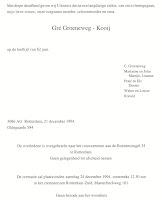 Groeneweg-Kooij, Geertruida Overlijdenskaart 21-12-1994.jpg