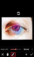 Membuat efek galaxi pada mata
