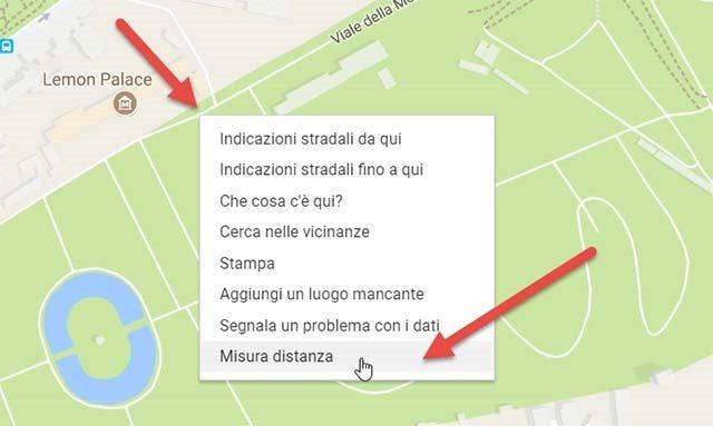 punto-iniziale-percorso-google-maps