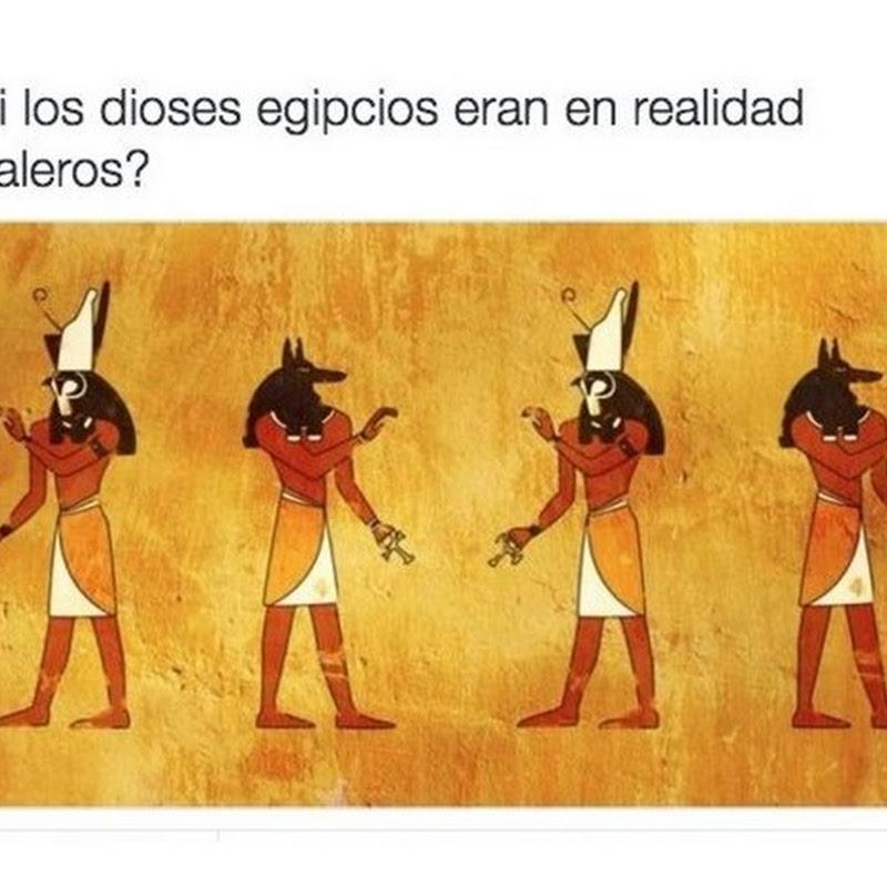 Y si los dioses de Egipto eran cristaleros?