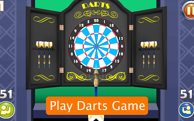 Classic Darts Online Game