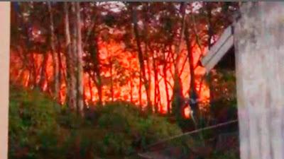 Lagi-lagi Kebakaran Lahan Terjadi Di  Salo, Beruntung Api Segera Dipadamkan