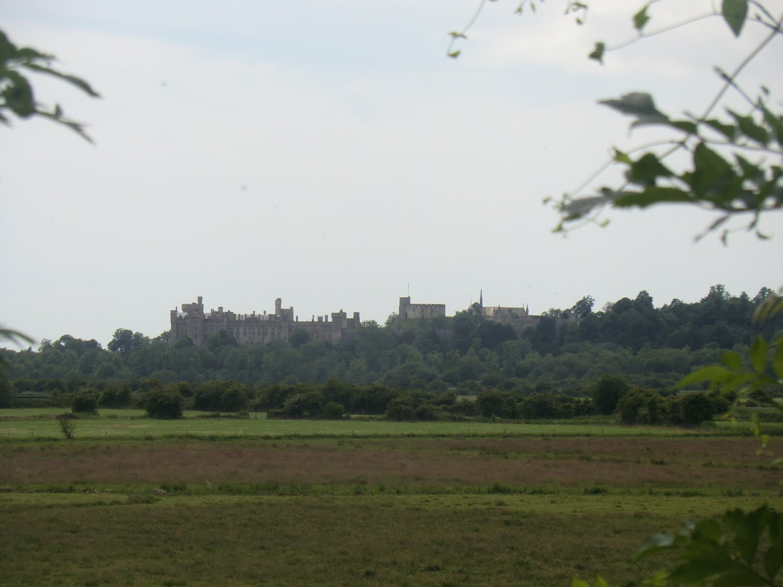 CIMG8844 Distant view of Arundel Castle
