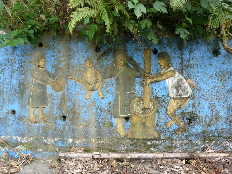 Puli  en passant , entre autres, par les villages de l ethnie Bunum de Loloko et Dili. J 10 - P1160996.JPG