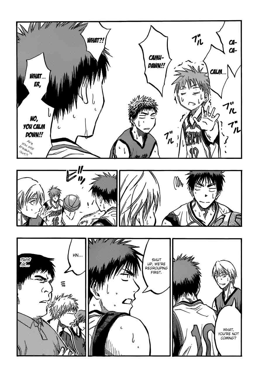 Kuroko no Basket Manga Chapter 187 - Image 04