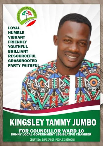 Kingsley Tammy Jumbo Starts Campaign For Ward 10 Councilor Bonny Island