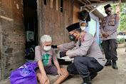 Tangis Haru Warga, Saat Dibantu dan Dikunjungi Polisi pelayan masyarakat