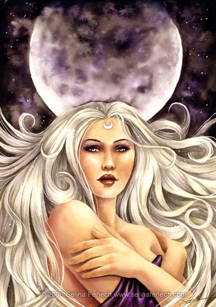 Artemis Moon Goddess, Gods And Goddesses 1