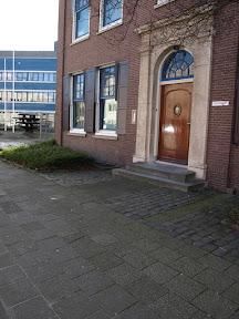 Nijverheidstraat 2 Stolperstein voor Matthieu Leonard van Gelderen.