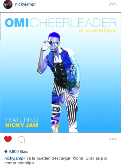 Omi ft Nicky Jam - Cheerleader