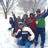 अमेरिकामा भारी हिमपात, नेपालीहरु यसरी रमाए