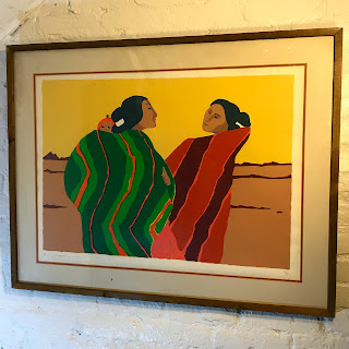R.C. Gorman Signed Lithograph