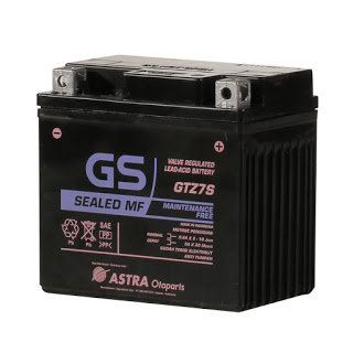 Berikut Aki GTZ7S Spesifikasi, Alternatif Aki GTZ6V !!
