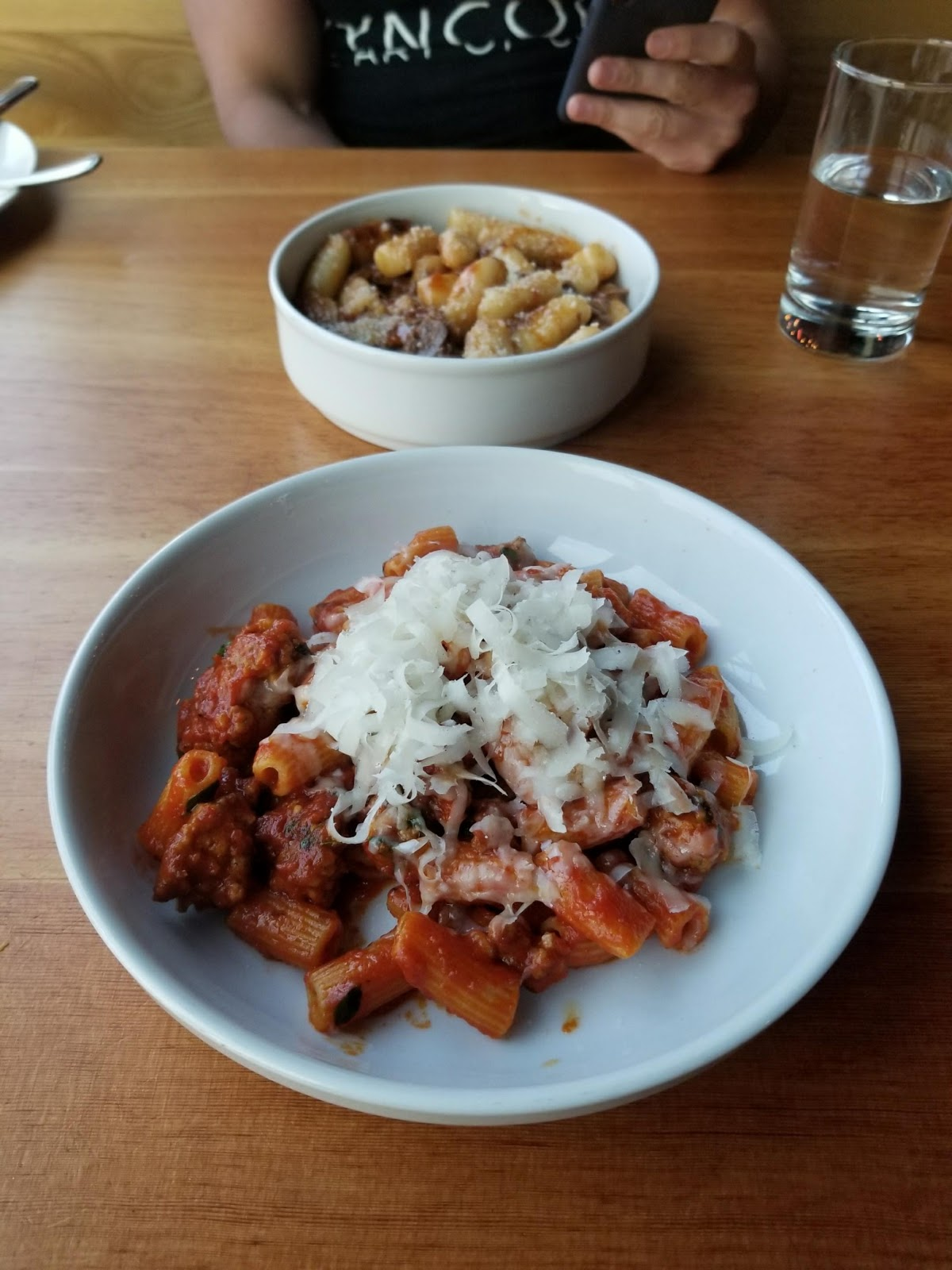 pasta kfclovesyou capitol hill blogger foodie