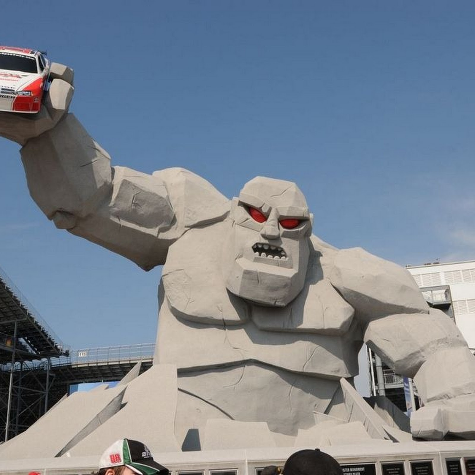 The Monster Mile of Dover International Speedway