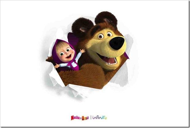 Finalmente gli episodi di Masha e Orso che vuoi, quando vuoi!