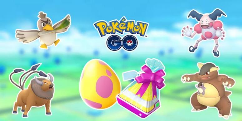 Pokémon GO - Pokémon de Regiões Exclusivas