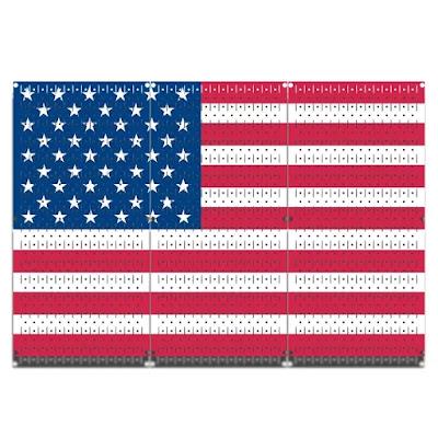 3 Panel American Flag Design