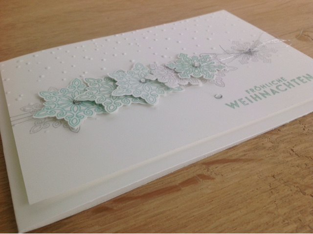 Stampin up Softly Falling
