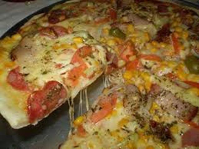 Pizza de liquidificador 1