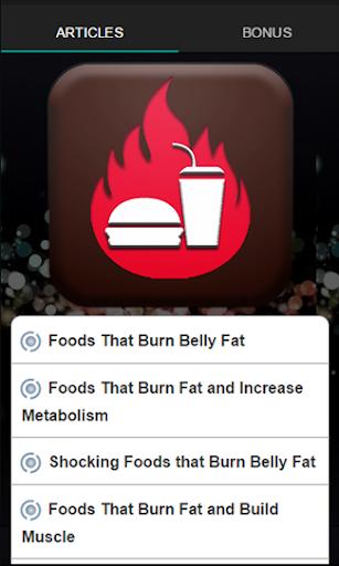 那燃燒脂肪的食物