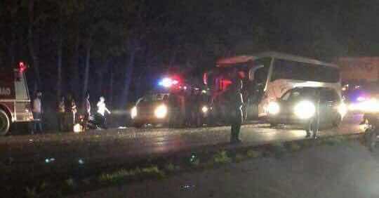Accidente en la Autopista Duarte deje un muerto y varios heridos