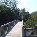 Bridge over Cockle Creek in at Bobbin Head (118882)
