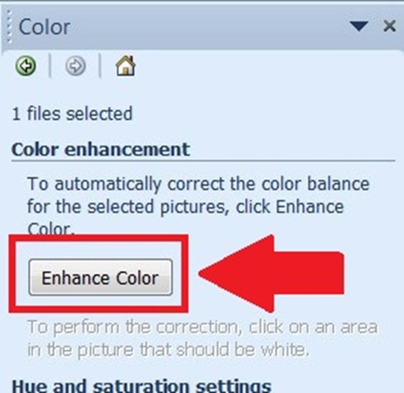 Lunsford enhance color